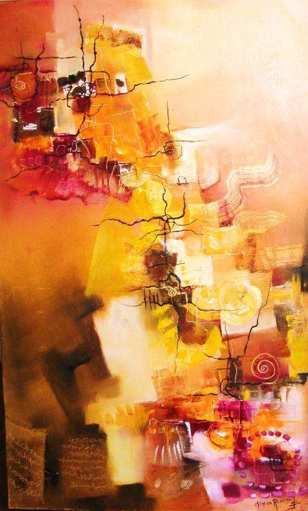"""Enigma de un legado"" - Monica Renedo - Oleo sobre tela www.esencialismo.com"