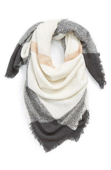 David & Young Square Blanket Scarf | Nordstrom