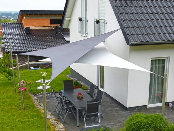 Two Cool Shade Sails Source Estiloydeco