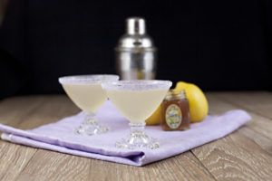 Lavender Bee's Knees recipe: A delightful twist on the classic gin cocktail. This simple and easy drink is perfect for a spring brunch or a fall dinner party.