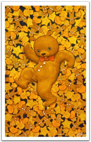 Pintoo - H1382 -SMART - Cool Bear and Gingerbread Men - 1000 Piece Puzzle