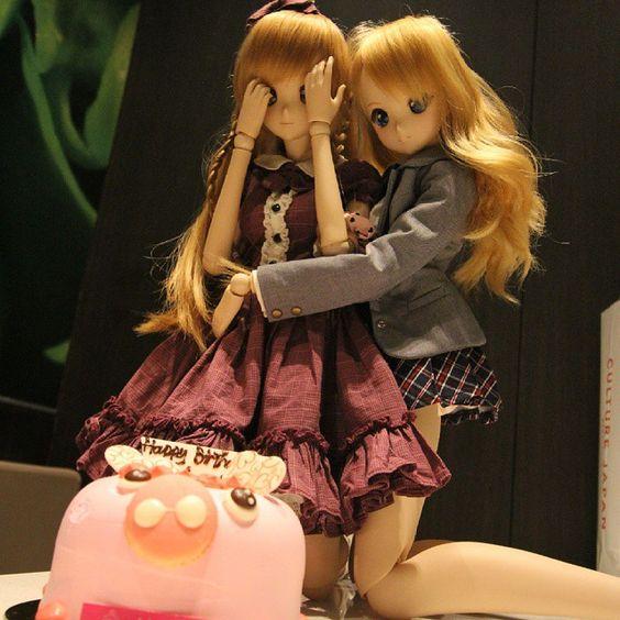 Mirai Suenaga and Kizuna Yumeno Smart Doll by zenri48