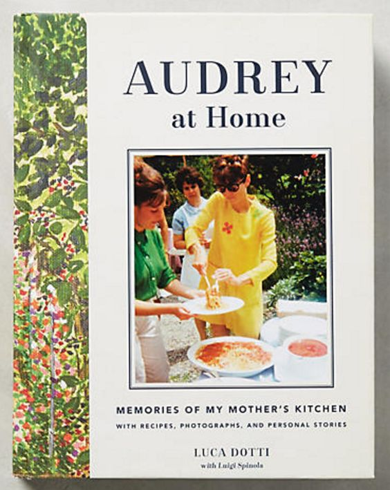 Audrey Hepburn Cookbook/Coffee Table Book
