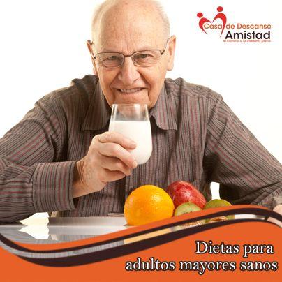 Dietas para adultos mayores saludables