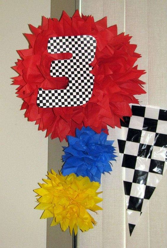 "inspired by the ""Cars"" movie Birthday Party Ideas 