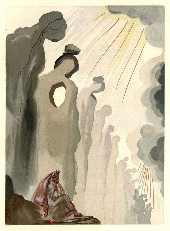 Salvador Dalí - L'enfer (Dekomposition) + Textbd. 2 Tle.