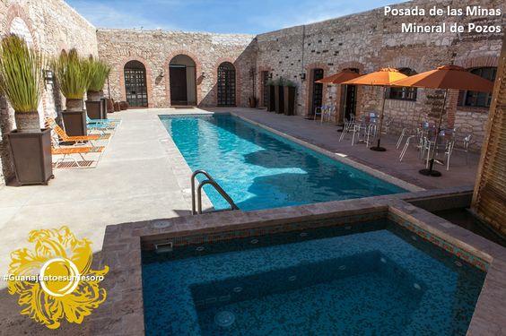 Un hotel que rememora el esplendor minero de Pozos  Manuel Doblado No. 1, Centro Tel: 442 2930213 info@posadadelasminas.com www.posadadelasminas.com #GuanajuatoesunTesoro
