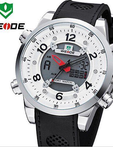 WEIDE Männer einzigartiges Design Mode-Sport-Militärarmee-Kautschukband Armbanduhr - http://uhr.haus/weiq/weide-maenner-einzigartiges-design-mode-sport