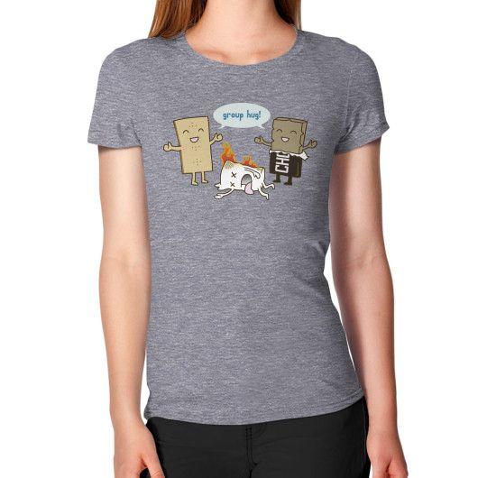 Funny S'mores Group Hug! Women's T-Shirt