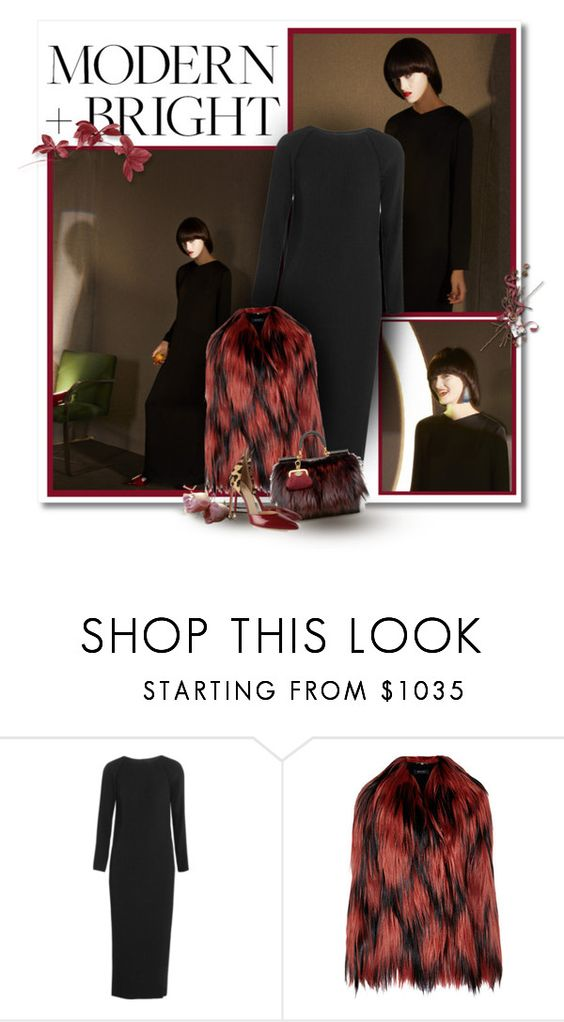"""..."" by bliznec-anna ❤ liked on Polyvore featuring Barbara Casasola, Gucci, Dolce&Gabbana and Francesco Russo"
