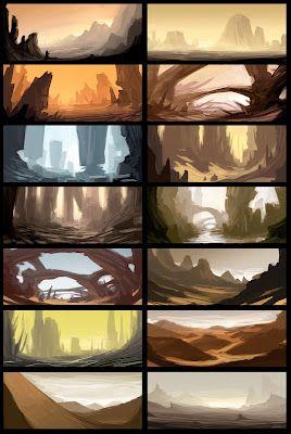 Landscape Design from Nizaam - Elements of game design art direction for games