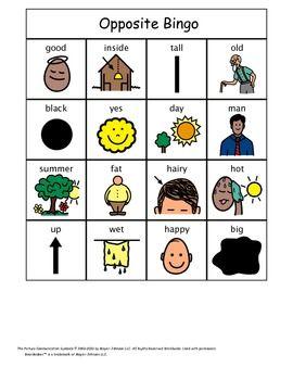Number Names Worksheets : opposite activities for preschool ...
