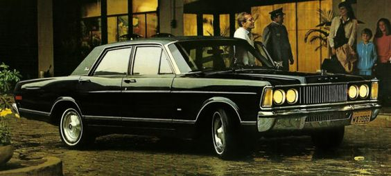 This 1970s Lincoln Is Really A Brazilian 1980s Ford From The '60s