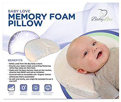 Amazon.com : Baby Love | Head Shaping Memory Foam Pillow