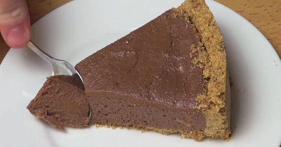Rezept für einen köstlichen Nutella-Käsekuchen ganz ohne Backen   SF Globe