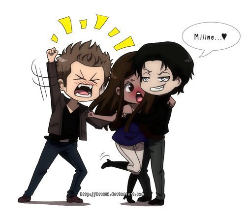 Cartoon the vampire diaries vampire diaries - Vampire diaries dessin ...