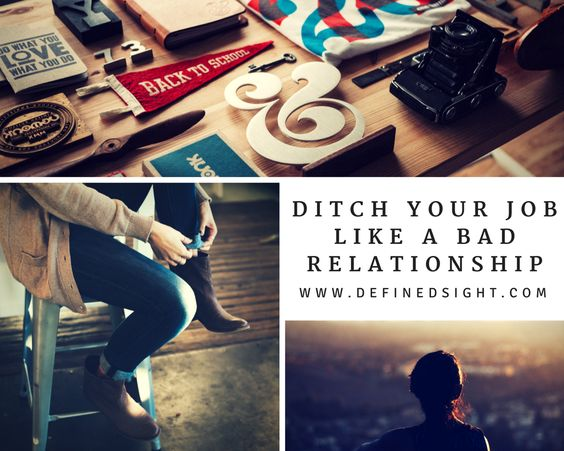 Find out if you need to ditch your job like a bad relationship!