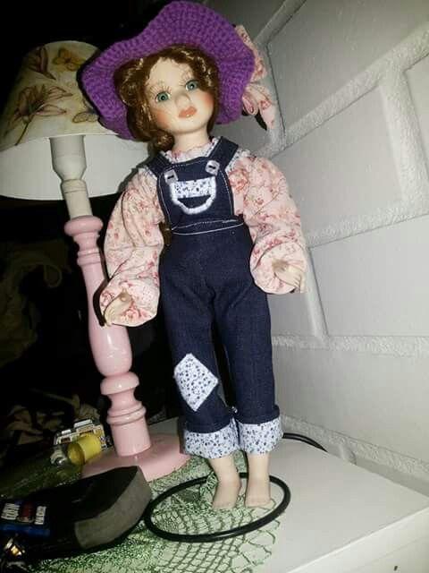 Muñeca de losa antigua sara kay.
