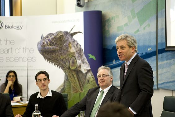 John Bercow, Speaker of the House of Commons, introduces Voice of the Future