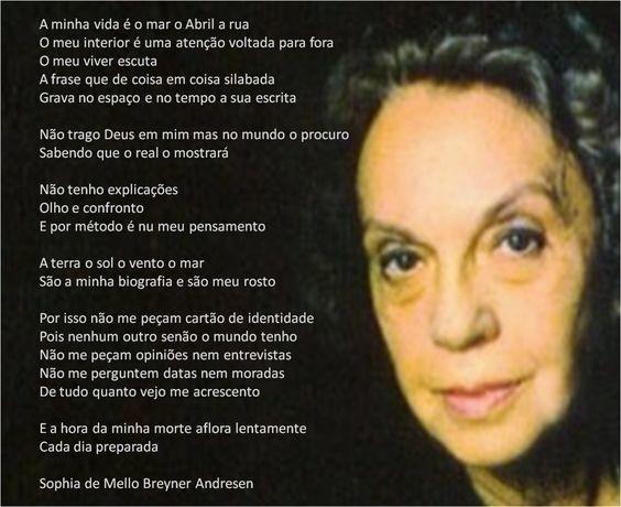 Sophia de Mello Breyner Andresen: