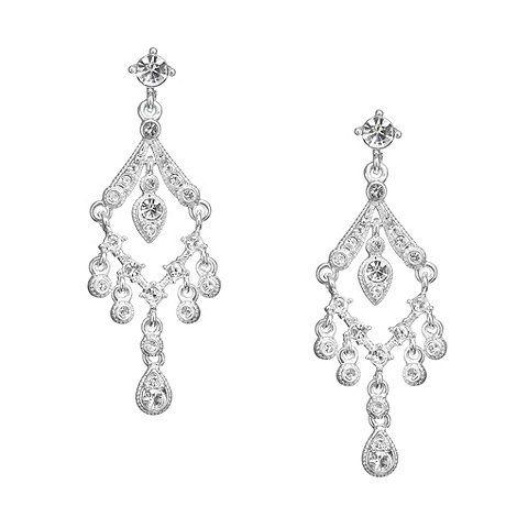 Jon Richard Vintage Crystal Chandelier Earring- at Debenhams.com ...