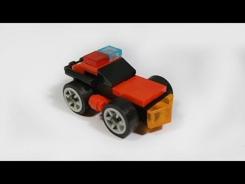 Cara Membuat Lego Mobil Mini Youtube Di 2021 Mobil Polisi Seni Origami