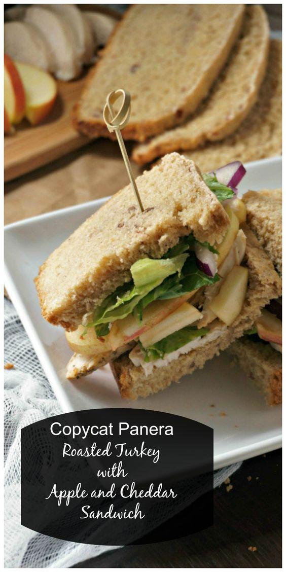 Copycat Panera Roasted Turkey, Apple, and Cheddar Sandwich ...
