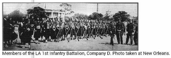 1st Inf. Battalion LA. Co.D
