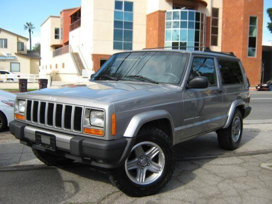 Sport Utility 2000 Jeep Cherokee 4wd Sport 2 Door With 2 Door In