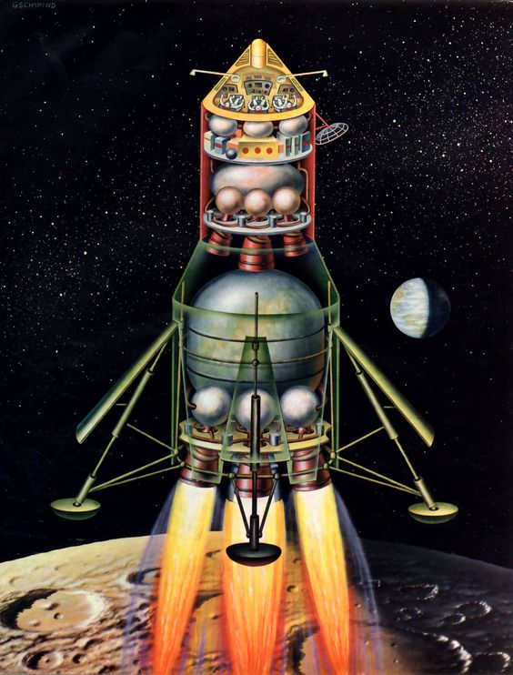 Moment d'inspiration: The Man In The Space II