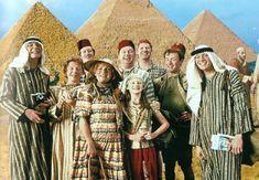 The Weasleys visit Charles in Egypt