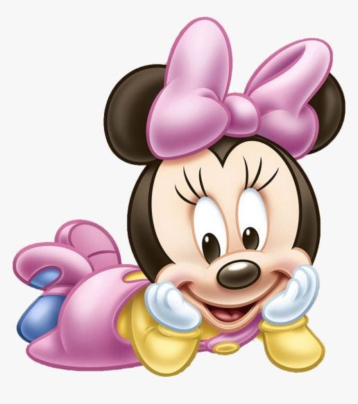 16 Baby Minnie Mouse Png Minnie Rosa Png Imagens Fofas Png