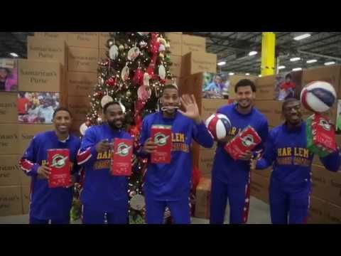 Operation Christmas Child | Harlem Globetrotters - YouTube | The ...
