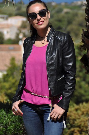 Fucsia morning (by Valentina Coco) http://lookbook.nu/look/3421789-Fucsia-morning