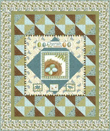 Red Rooster Quilts: Shop | Category: Patterns - Download for FREE | Product: Cherish Nature Downloadable Quilt Pattern