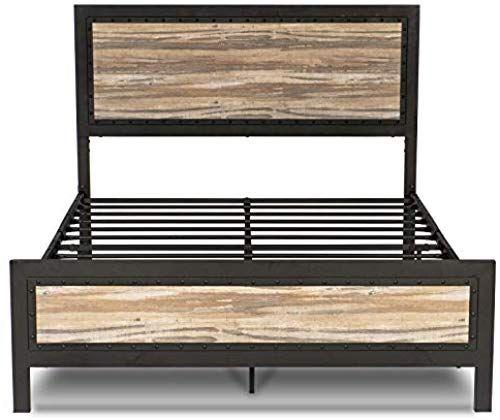 Buy Amolife Queen Size Bed Frame Upholstered Headboard Platform