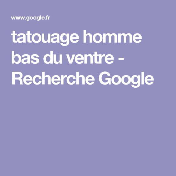 tatouage homme bas du ventre - Recherche Google