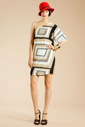 Trina Turk | Deco Dress  in stock now at Mica & Molly's Boutique Downtown Melbourne, FL