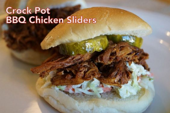 Crock Pot BBQ Chicken Sliders | Kuzak's Closet - Professional Organizing & Estate Sales