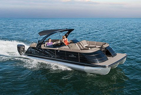 Full Line Of New Pontoon And Tritoon Boats From Bennington The