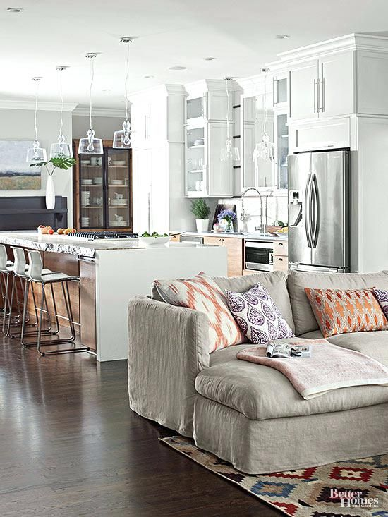 Architecture Small Open Floor Plan Ideas Form A Perfect Union For Furnit Living Room Floor Plans Living Room Furniture Arrangement Open Kitchen And Living Room