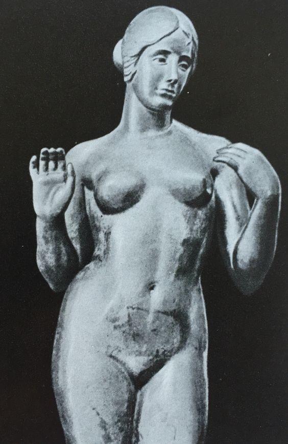 "Aristide Maillol  Аристид Майоль ""Венера без ожерелья"" 1918-1928"