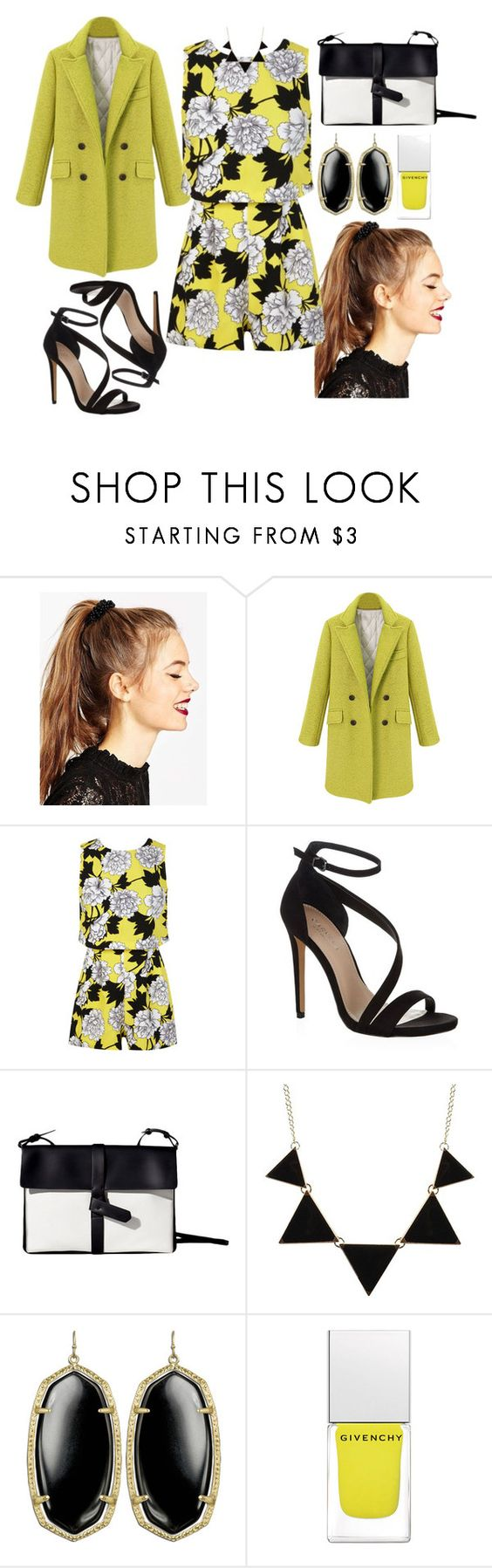 """5876"" by gabipolyvore92 ❤ liked on Polyvore featuring ASOS, Miss Selfridge, Carvela Kurt Geiger, CO, Kendra Scott and Givenchy"