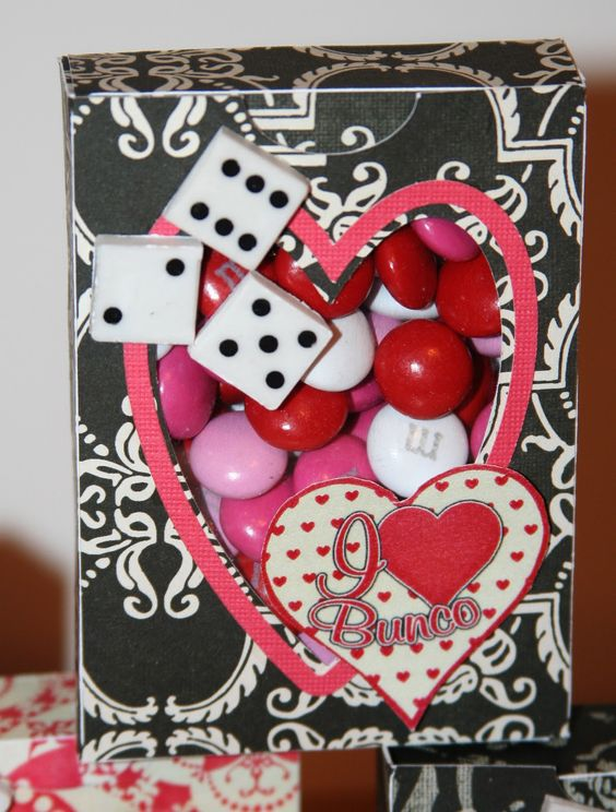 deb u0026 39 s crafty side  january 2012 valentine bunco favors