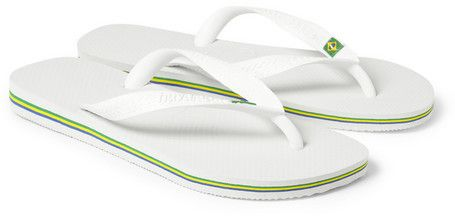 It's never too early to get ready for summer! Havaianas Brazil Rubber Flip Flops