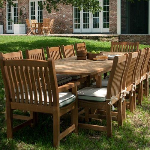 32+ Teak outdoor patio dining sets Top