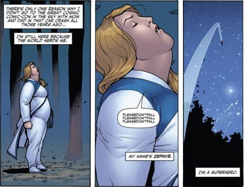 .:Primeira super-heróina plus-size, Faith Herbert ganhará série própria.: #superheróina #plussize #FaithHerbert #Valiant #Zephyr #Resenhando #SiteResenhando