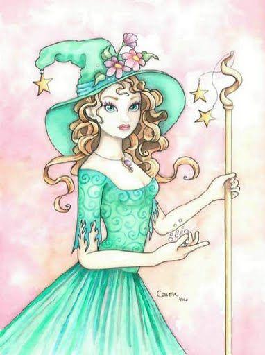 bruja de verde