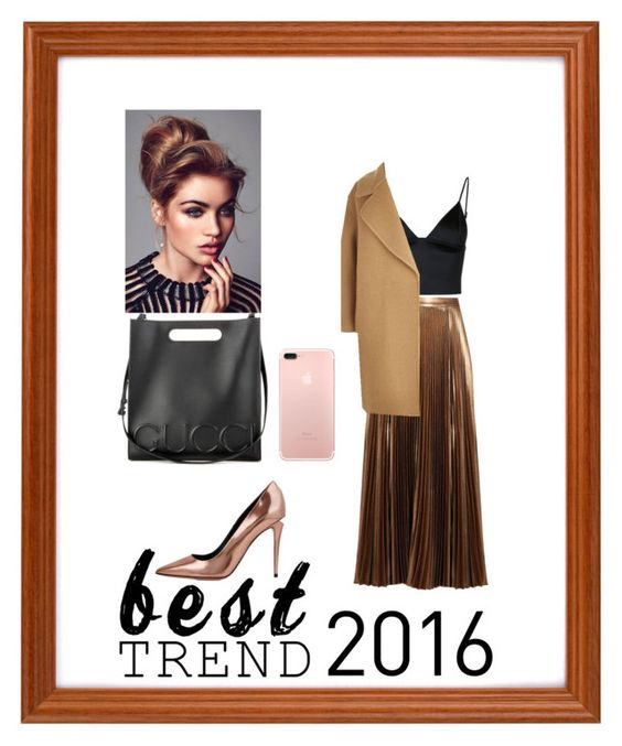 """Untitled #485"" by neflaluna ❤ liked on Polyvore featuring A.L.C., Alexander Wang, T By Alexander Wang, MaxMara, Gucci and besttrend2016"