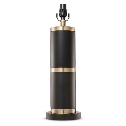 Franklin Lamp Base Large - Black/Brass - Threshold™